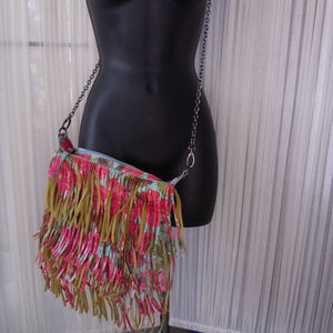 Steve Madden Adjustable Crossbody bag w/ fringe